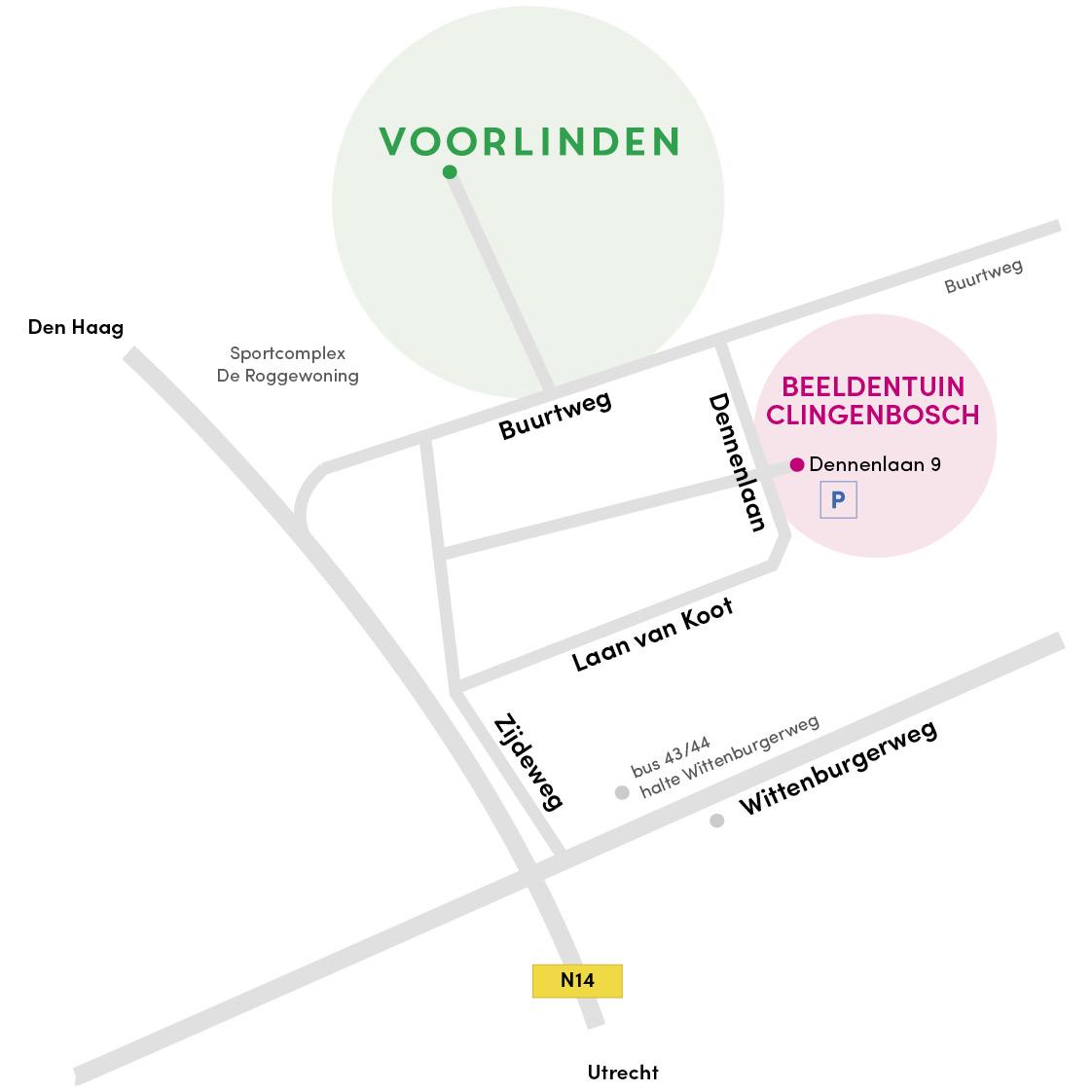 Beeldentuin_Clingenbosch_plattegrond