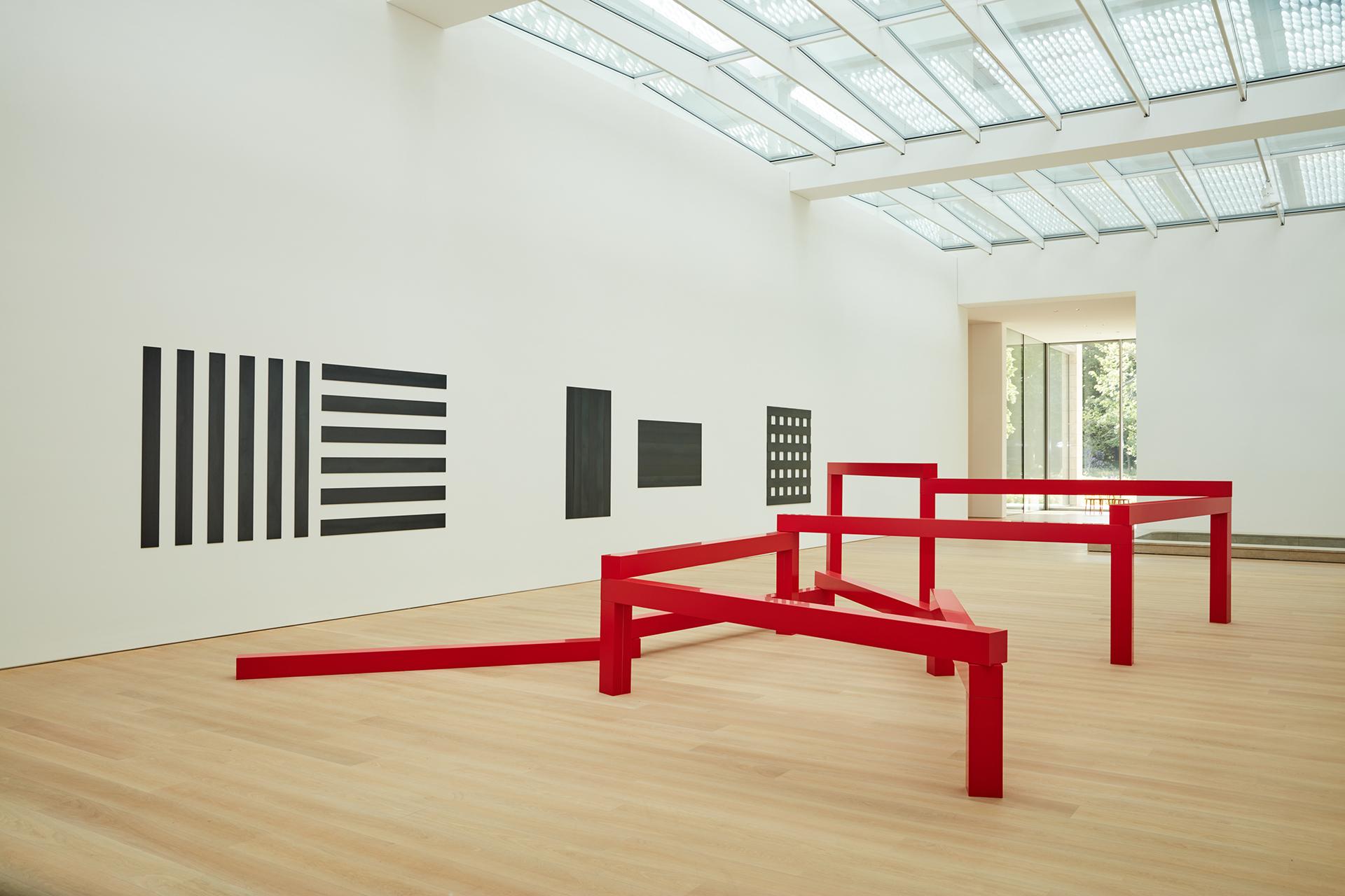 Francois Morellet Museum Voorlinden