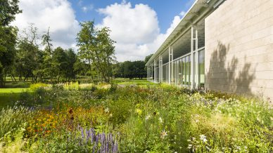 piet oudolf tuin bij museum Voorlinden