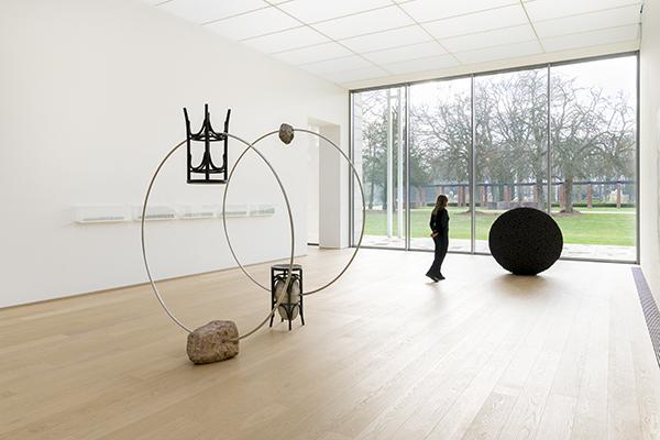 Installation view Momentum museum Voorlinden