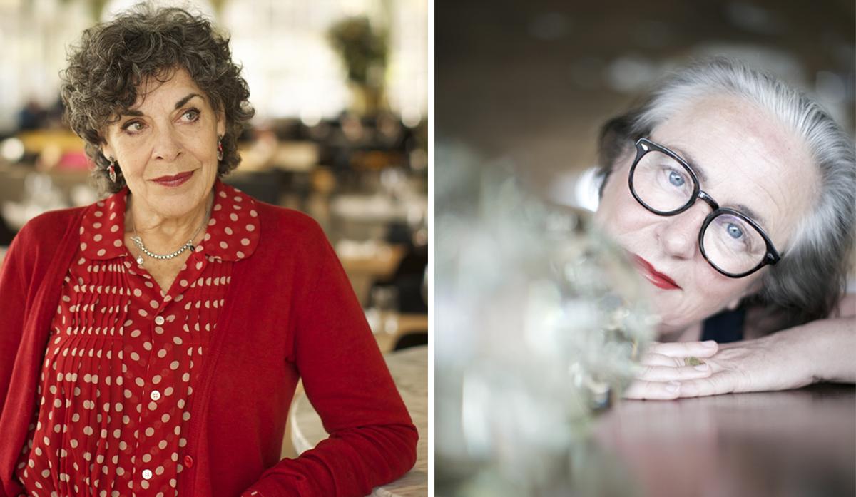 Hanneke Groeteman en Lidewij Edelkoort voor Sunday Salon museum Voorlinden