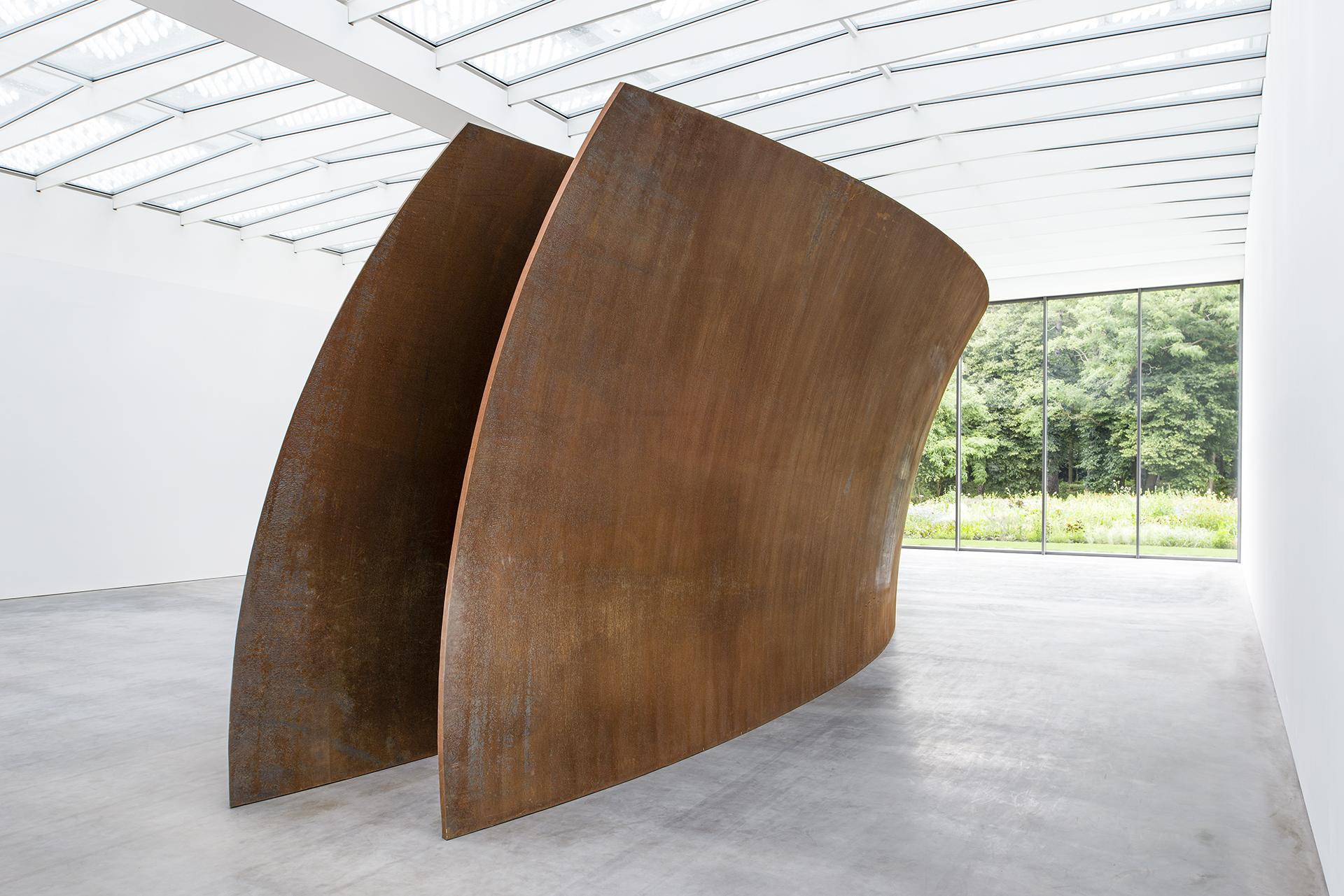 Open Ended van Richard Serra in museum Voorlinden