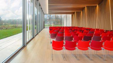 Vergaderen auditorium museum Voorlinden